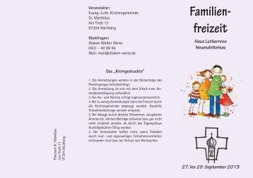 Informationsflyer mit Anmeldebogen - Evangelisch-Lutherische ...