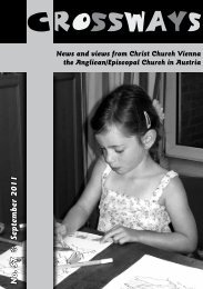 September 2011 - Christ Church Vienna, Austria