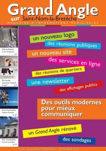 Bulletin municipal n° 25 - Saint Nom la Bretèche