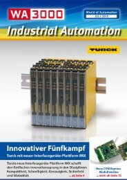 WA3000 Industrial Automation Juli 2015