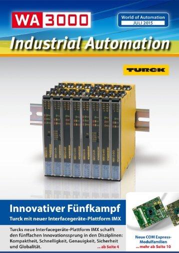 WA3000 Industrial Automation Juli 2015