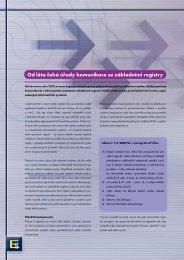Od léta čeká úřady komunikace se základními registry - Egovernment