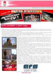 Newsletter n. 12 ottobre 2007 - Gruppo Industriale Tosoni