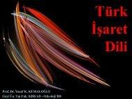 2. Türk İşaret Dili - Engelsiz Üniversite Birimi