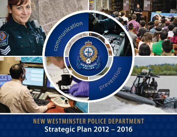 Strategic Plan 2012 – 2016 - New Westminster Police