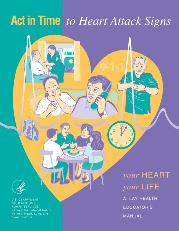 Act in Time to Heart Attack Signs - National Heart, Lung, and Blood ...