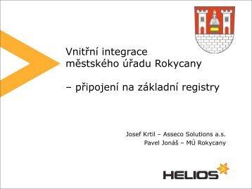 Připojení na Informační systém základních registrů - Egovernment
