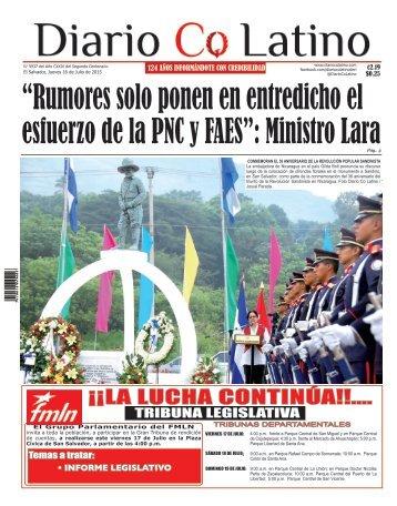 Edición 16 de Julio de 2015