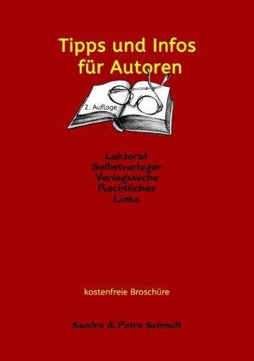 Tipps und Infos für Autoren (2. Auflage 2015)