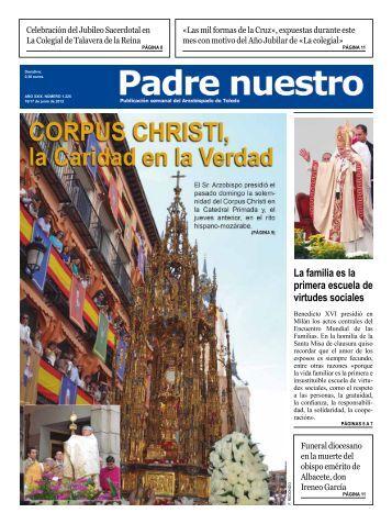 Número 1.225. 16-17 de junio - Archidiócesis de Toledo