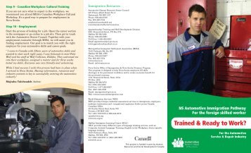 Immigrant Brochure.qxd (Page 1) - Automotive Human Resources ...