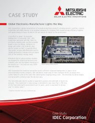 case study - Mitsubishi Electric
