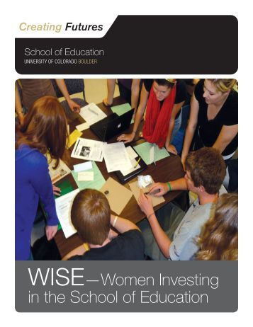 WISE—Women Investing in the School of Education - University of ...