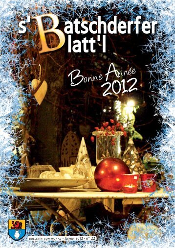 Janvier 2012 - n° 22 - Betschdorf
