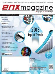 January 2013 issue in PDF - ENX Magazine