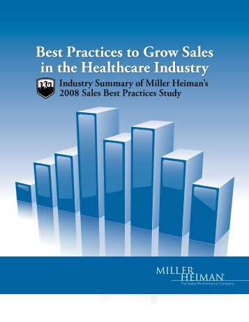 Best Practices to Grow Sales in the Healthcare Industry
