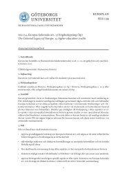 kursplan hi2134 - Institutionen för historiska studier