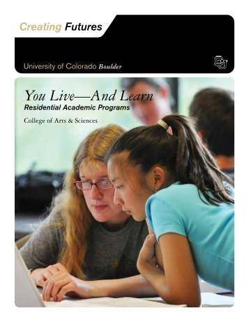 You Live—And Learn - University of Colorado Foundation