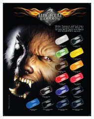 Wicked Colors Chart PDF