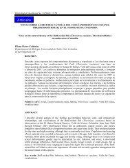 Lea todo el artículo en pdf - Asociación Colombiana de Ornitología
