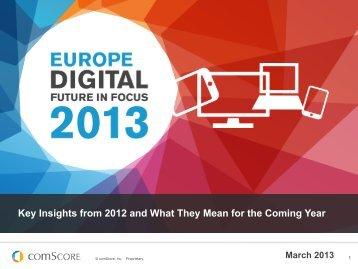 Europe Digital Future in Focus 2013 - RIS