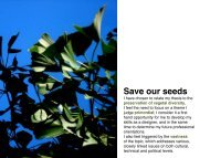 thesis presentation - Save Our Seeds - WordPress.com