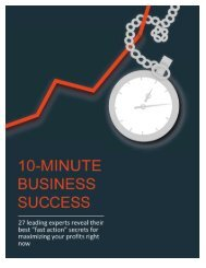 10-Minute Business Success