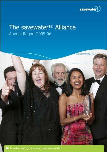 2005-06 Annual Report - Savewater.com.au