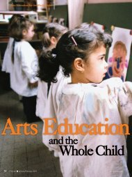 Arts Education for the Whole Child - National Association of ...