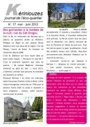 N° 17 mai ‐ juin 2012 - Wiki-Brest