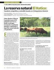 La reserva natural El Hatico: Ganadería competitiva y sostenible ...