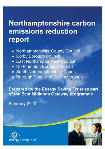 Appendix 4 Energy Saving Trust Gateway Report 09-10 - South ...