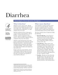 Diarrhea - National Digestive Diseases Information Clearinghouse