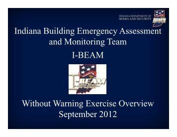 Indiana I-BEAM Presentation - Central United States Earthquake ...