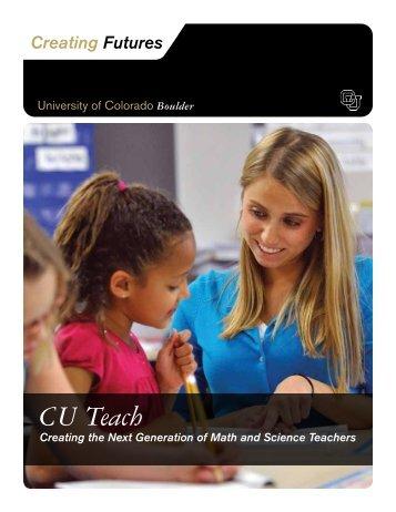 CU Teach - University of Colorado Foundation