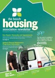 association newsletter the beech - Adactus Housing Group Ltd