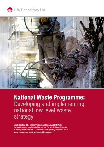 National Waste Programme - Low Level Waste Repository Ltd
