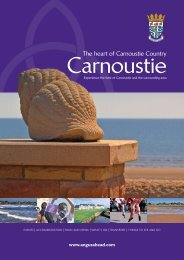 Carnoustie Brochure (4 MB PDF) - Angus Community Planning