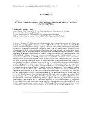 hymenoptera parasitoides en la reserva natural el hatico
