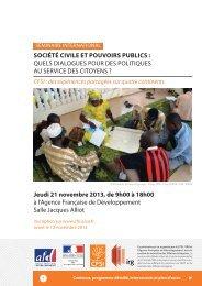 Télécharger le programme détaillé du séminaire - Cfsi