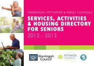 ServiceS, ActivitieS & HouSing Directory for SeniorS ServiceS ...