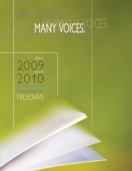 2009 and 2010 Print Catalog - Community Partnership for Arts and ...