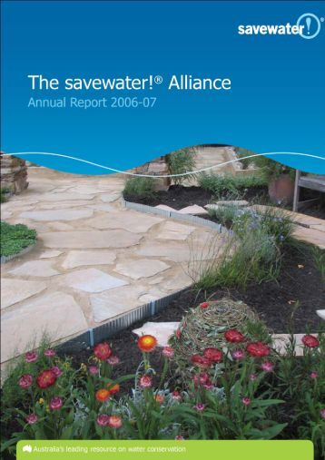 2006-07 Annual Report - Savewater.com.au