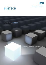 MidTECH Annual Report 2008/09