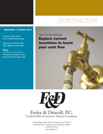 Contractor - Feeley & Driscoll PC