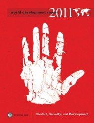 World Development Report 2011 - Institut de recherche et débat sur ...