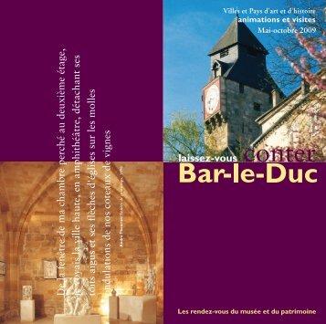 Mai-octobre 2009 - Villes et Pays d'art et d'histoire