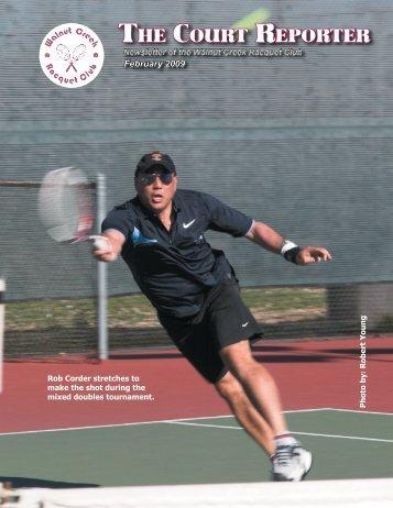 February CR.1.20.09 - Walnut Creek Racquet Club