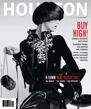 """Journey Man"", Houston Modern Luxury, July, 2008 - Nicola Parente"