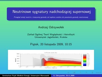 pdf (2.4 MB) - Warsaw High Energy Physics Group